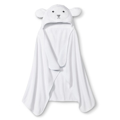 Newborn Lamb Wrap Towel - White - Circo™