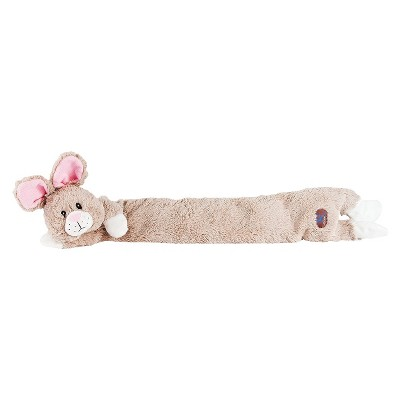 Charming Pet Longidudes Rabbit Dog Toy - Gray