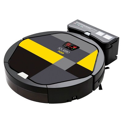iclebo pop superior robotic vacuum cleaner with double whirling technology - Robotic Vacuum Cleaner