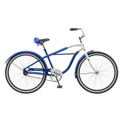 Schwinn Mens Legacy 26  Cruiser Bike- Blue/White