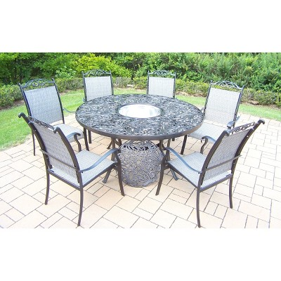 Cascade Aluminum Patio Dining Furniture Collection