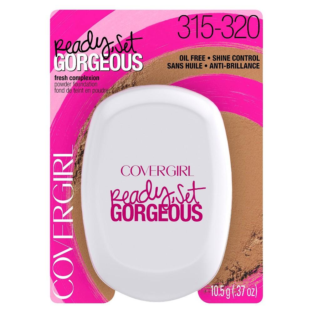 Covergirl Ready Set Gorgeous Powder Foundation - 315/320 Deep