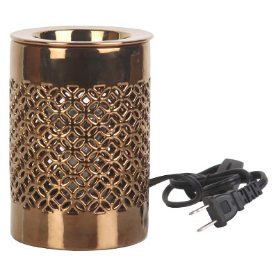 Electric Fragrance Warmer Lattice Gold - Home Scents By Chesapeake Bay Candle