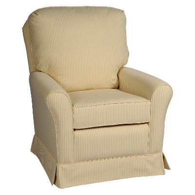 Little Castle Crown Swivel Glider - Beige Stripe