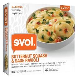 Evol Butternut Squash and Sage Ravioli 8.1 oz