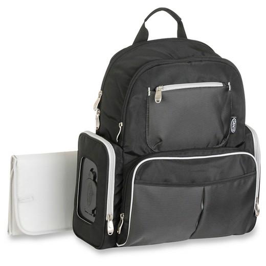 Graco® Gotham Backpack Diaper Bag - Black & Gray : Target