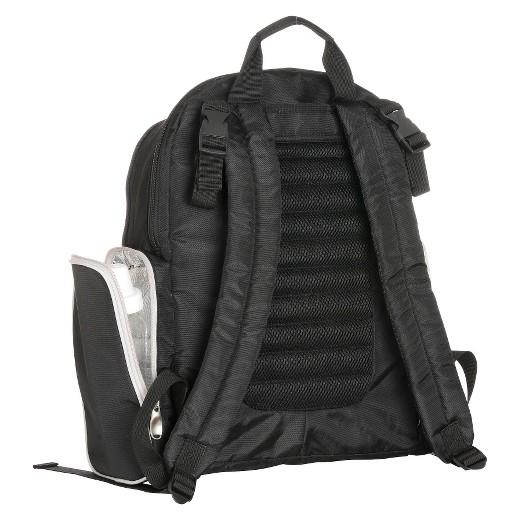 graco gotham backpack diaper bag black gray target. Black Bedroom Furniture Sets. Home Design Ideas