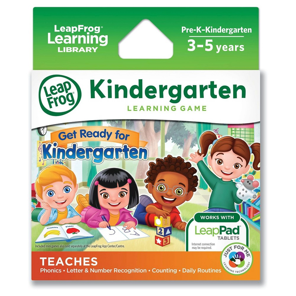 LeapFrog Learning Game: Get Ready for Kindergarten (for L...