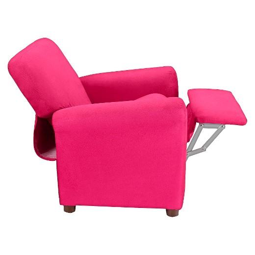 Kids Urban Reclining Chair Racy Pink Microfiber Crew Furniture Target