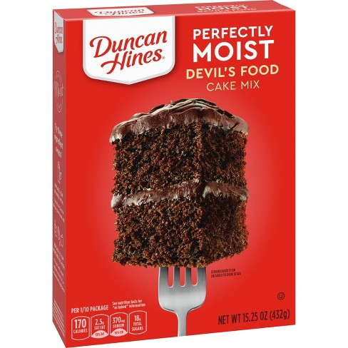 Duncan Hines® Devils Food Cake Mix - 16.5oz - image 1 of 1