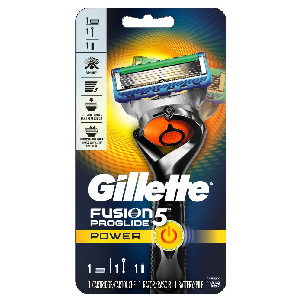 Gillette Fusion5 ProGlide Power Men's Razor - 1 Handle + ...