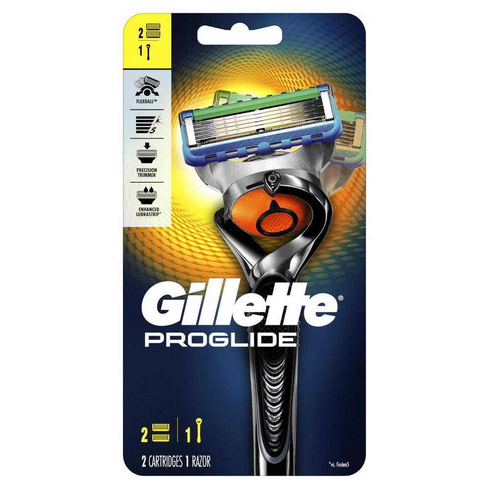 Gillette Fusion5 ProGlide Men's Razor - 1 Handle + 2 Refills
