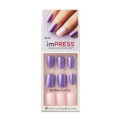 Broadway Nails imPRESS® Press-On Manicure® - Bright as a Feather