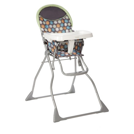 Cosco Slim Fold High Chair Ikat Dots
