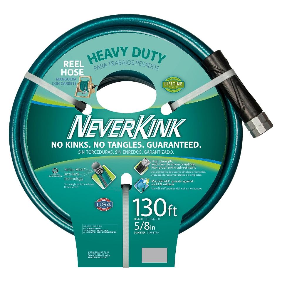 Apex Neverkink Heavy Duty Reel Hose Green 130