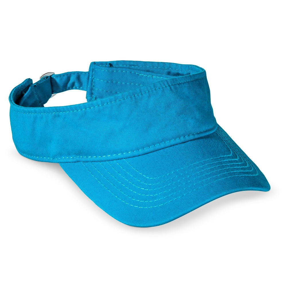 Womens Solid Visor Hat - Xhilaration Blue