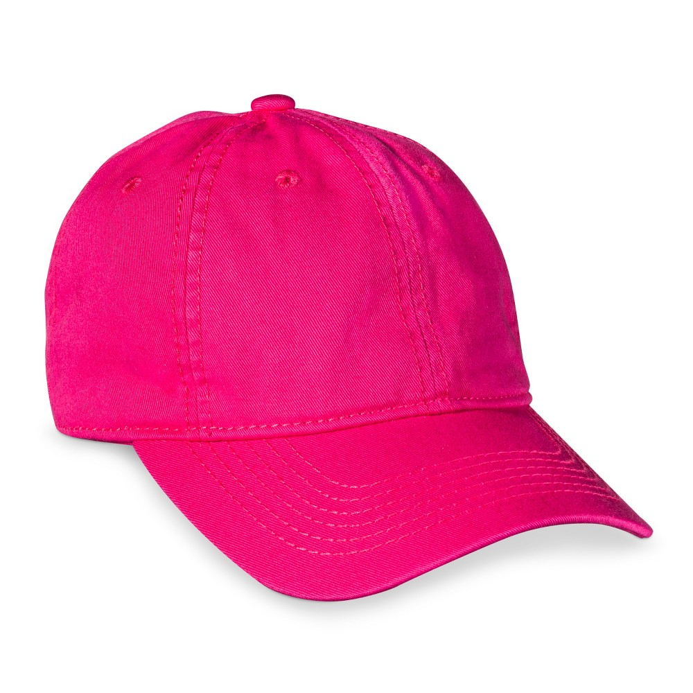 Womens Solid Baseball Hat - Xhilaration Pink