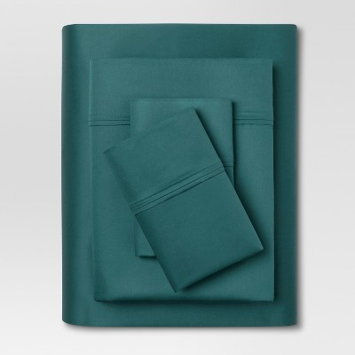 Performance Sheet Set (Queen)Zenith Teal 400 Thread Count - Threshold™