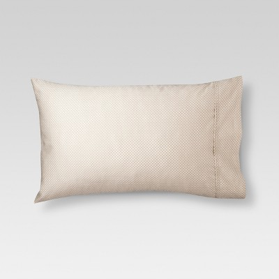 Performance Solid Pillowcase (Standard)Tan 400 Thread Count - Threshold™