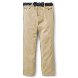 French Toast Girls' Polka Dot Belt Pants