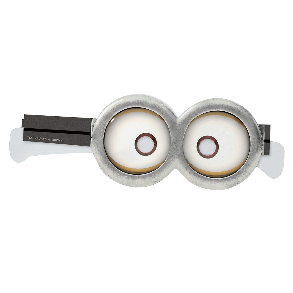 8 ct Despicable Me Minions Goggles, Kids Unisex