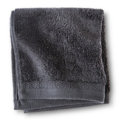 Egyptian Cotton Washcloth - Essential Gray - Fieldcrest™