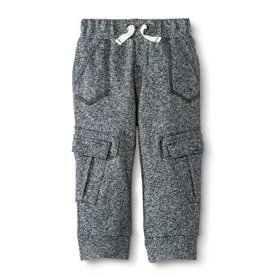 Infant Toddler Boys' French Terry Lounge Pant - Heather Gray 18 M