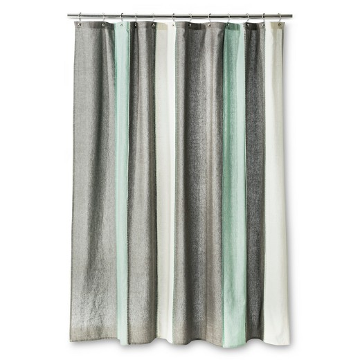 grey white striped shower curtain. Blanket Stripe Shower Curtain Gray White Threshold Target  Grey And