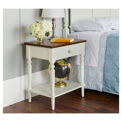 Isabella Nightstand - Dove White