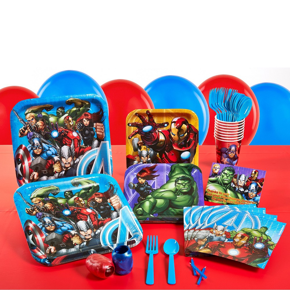 Avengers Birthday Party Park for 8, Variation Parent