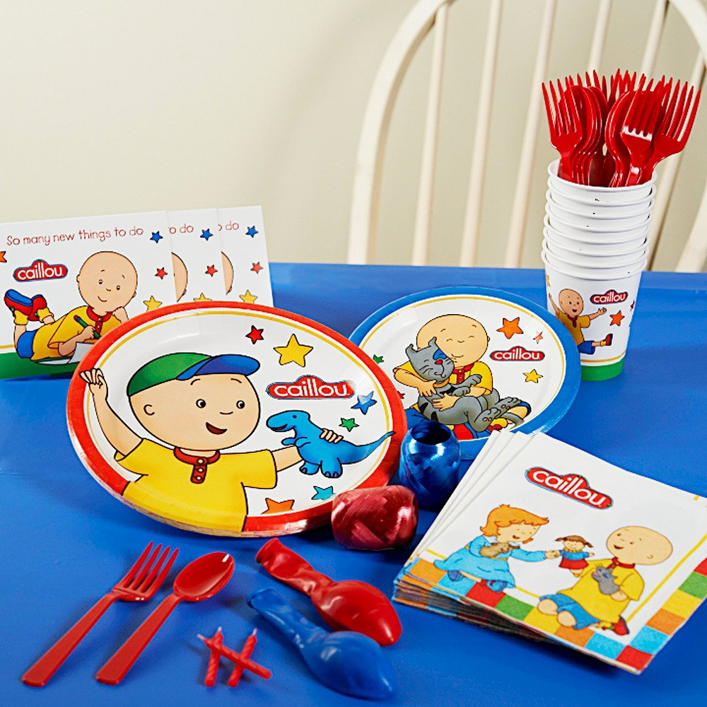 Caillou Birthday Party Pack for 8, Variation Parent