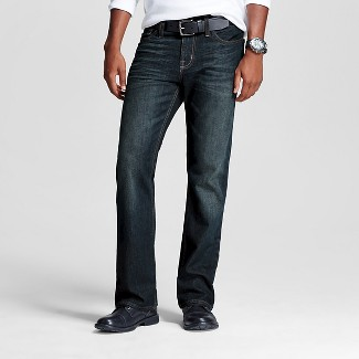 mens stretch jeans bootcut : Target