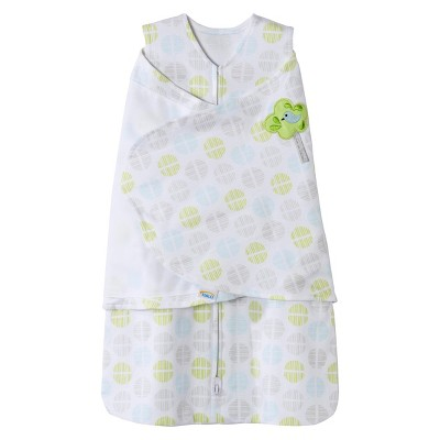 HALO SleepSack Swaddle Gray Circles - Newborn