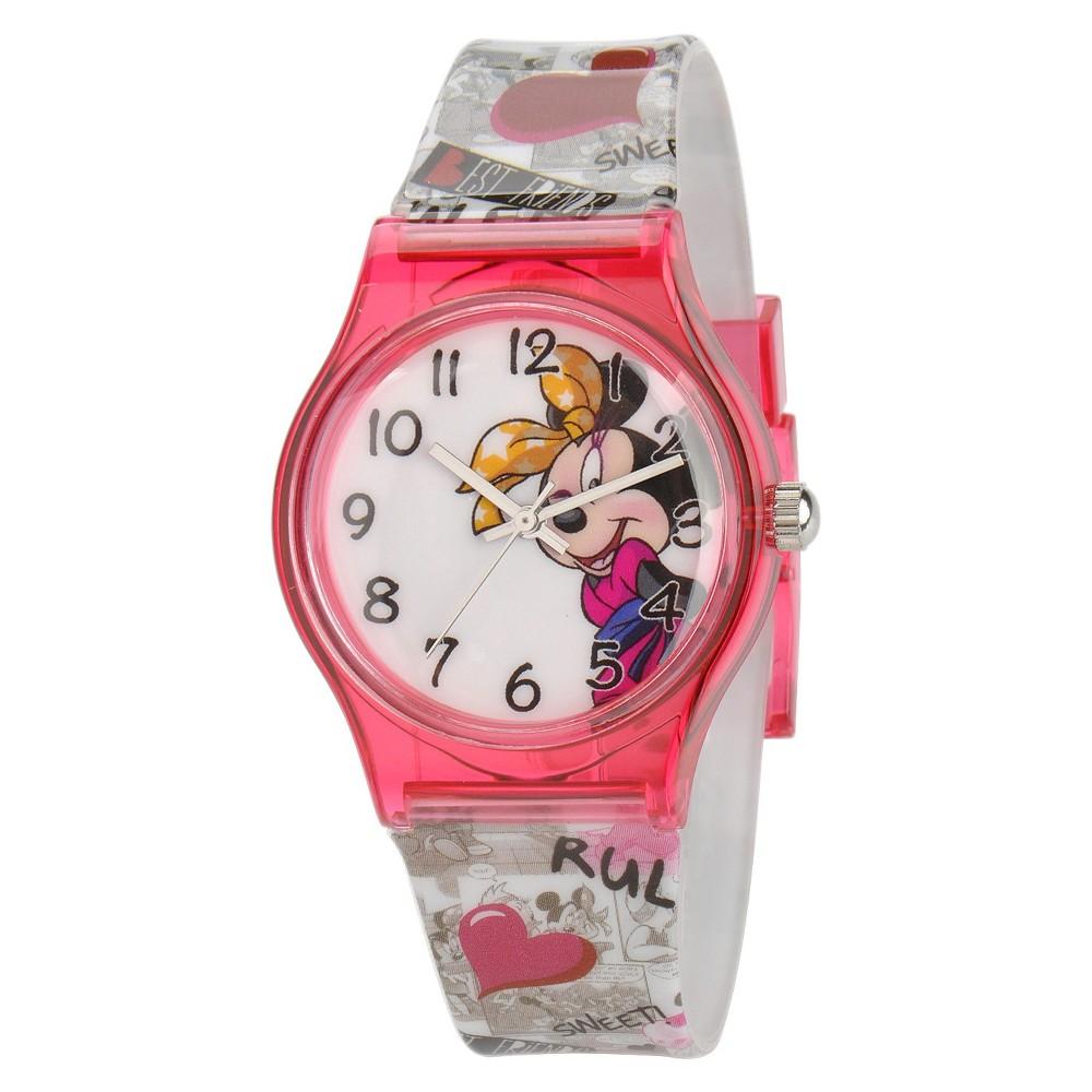 Kids Disney Minnie Watch, Girls, Pink