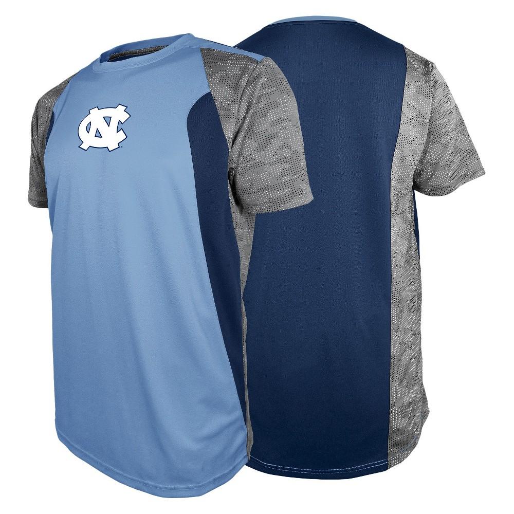 North Carolina Tar Heels Men's Shirt Blue M, Multicolored