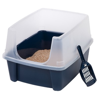 IRIS Open Top Cat Litter Box