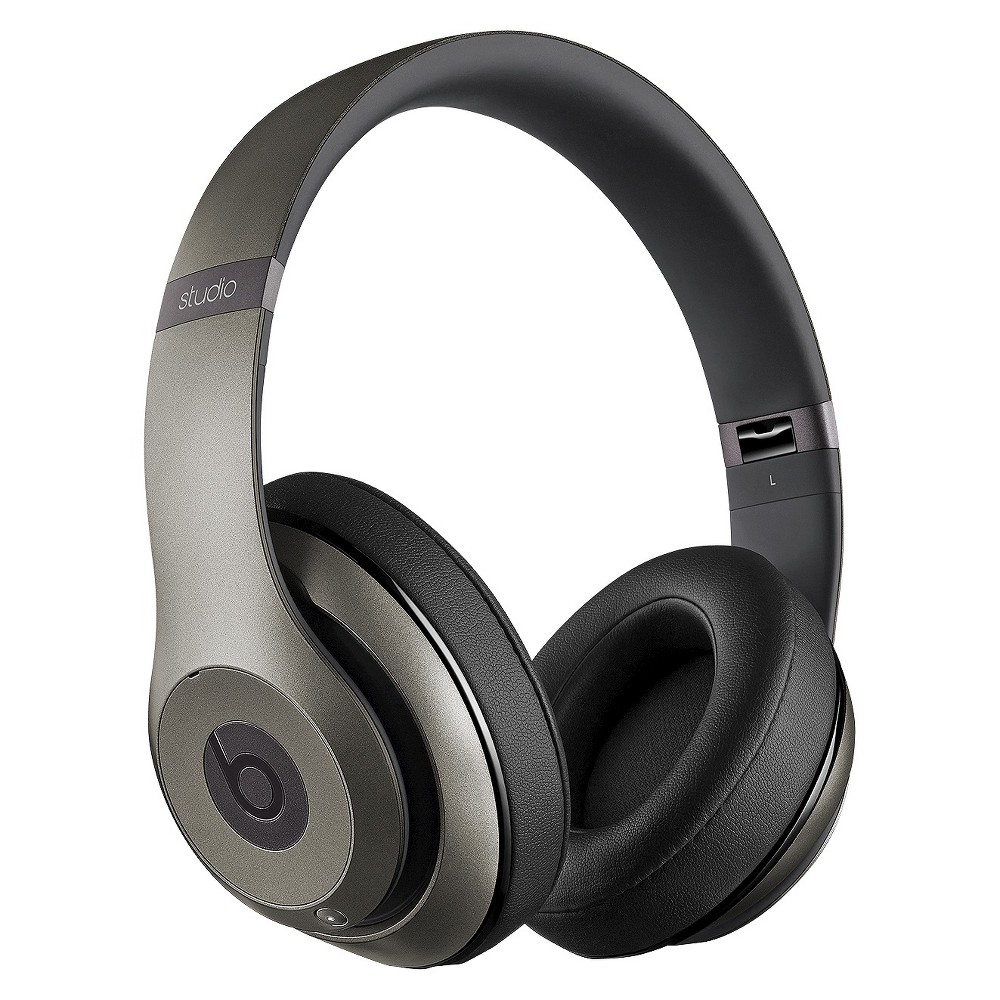 Beats Studio Around-the-Ear Wireless Headphones - Titanium (Silver)