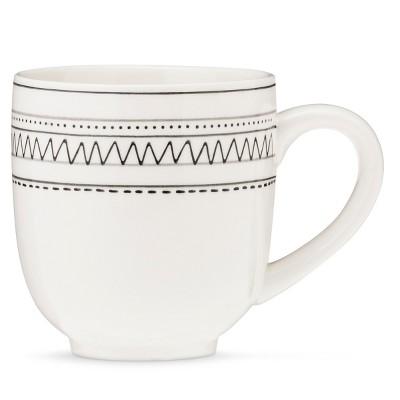 Avery 16oz Stoneware Mug Set of 4 White - Threshold™