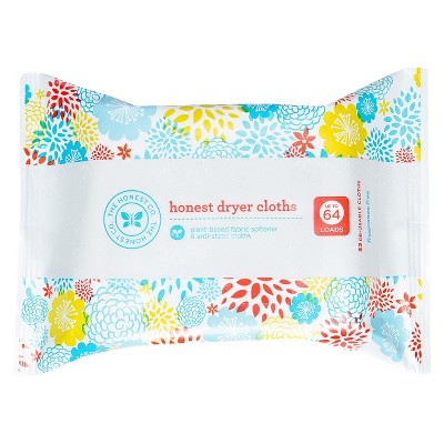 Honest Company Dryer Cloths - 32 Count