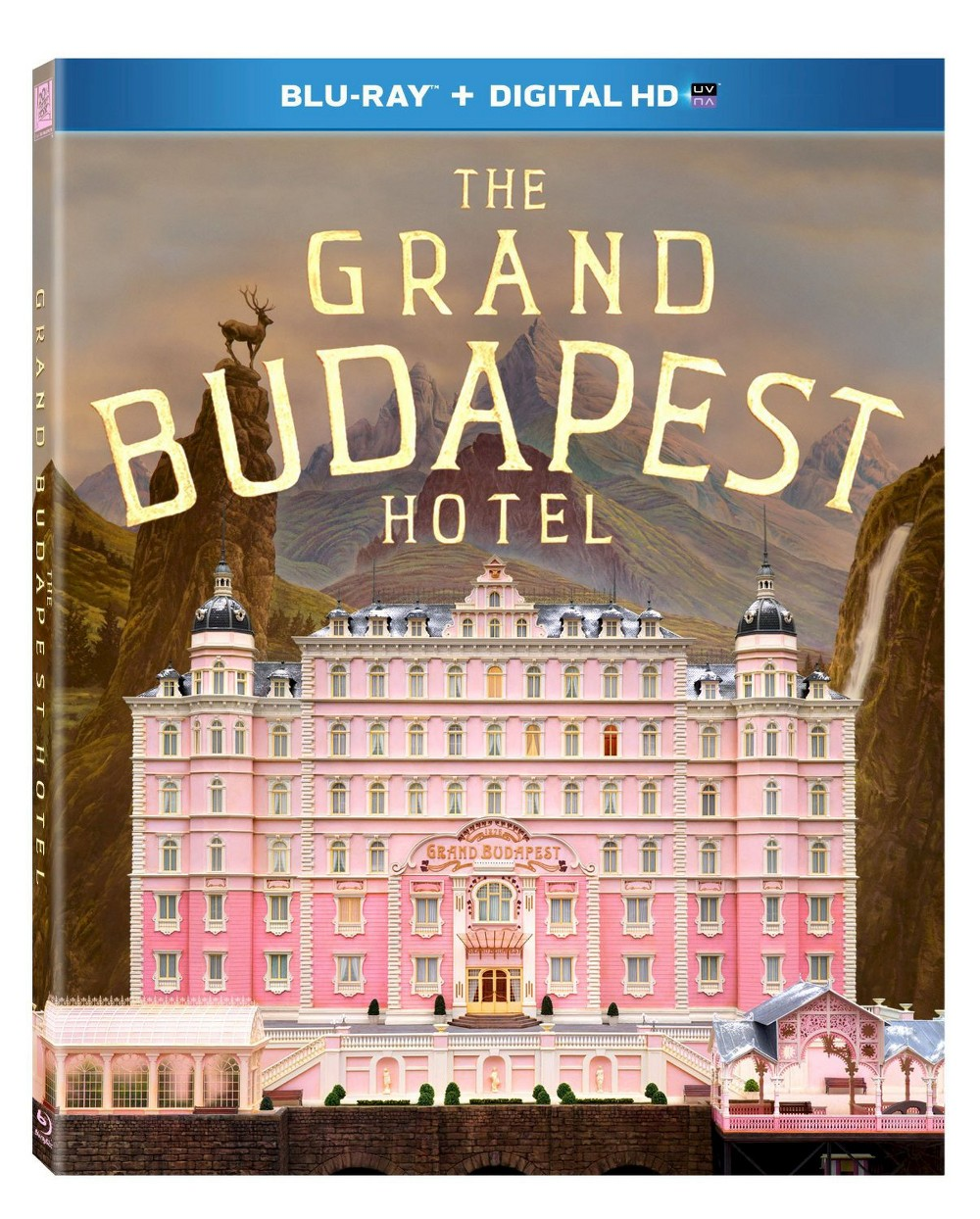 Grand Budapest Hotel (Includes Digital Copy) (UltraViolet) (Blu-ray)