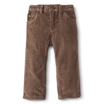 Infant Toddler Boys' Corduroy Pant - Cafe Latte 18 M