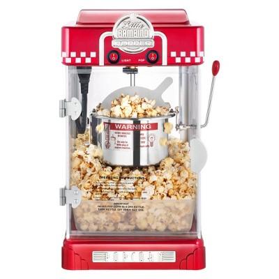 Great Northern Popcorn's Little Bambino 2-1/2oz Retro Style Popcorn Popper Machine