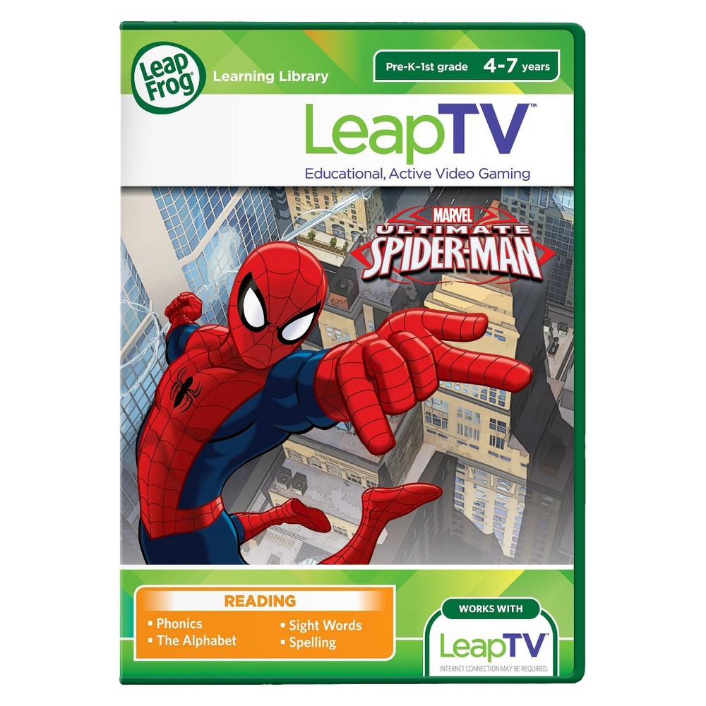 LeapFrog LeapTV Ultimate Spider-Man Educational, Active Video Game