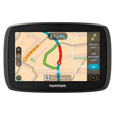 TomTom GO 60 Portable 6  Touch Screen GPS Navigator - Black/Gray (1FC601901)
