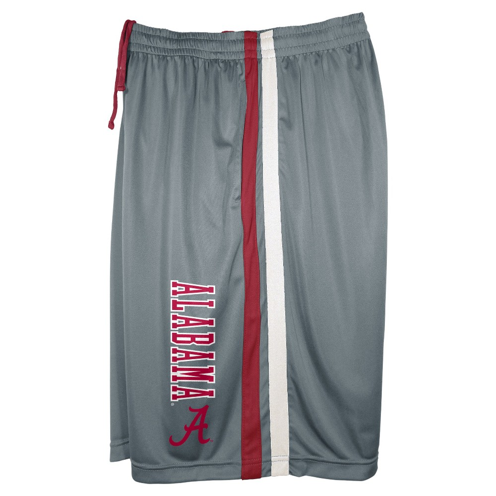 Alabama Crimson Tide Men's Shorts Gray Xxl, Multicolored