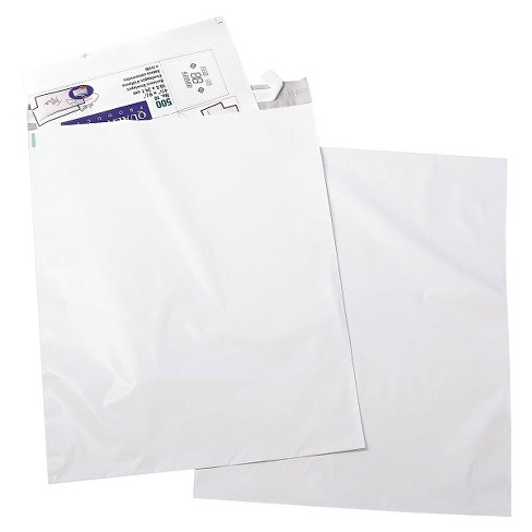 Quality Park Redi-Strip Poly Mailer, Side Seam - White (50 Per Pack) - image 1 of 1