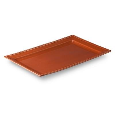 Camden Large Rectangular Platter Orange - Threshold™