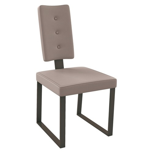 Amisco Soho Dining Chair - Brown (Set of 2)