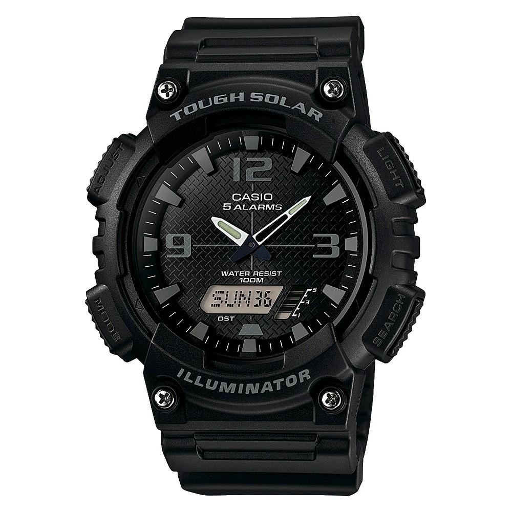 Men's Casio Solar Sport Ana-Digi Combination Watch - Black (AQS810W-1A2VCF)