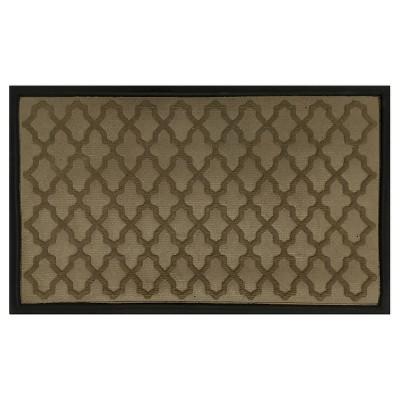 Solid Woven Doormat - (1'6 x2'6 )- Mohawk